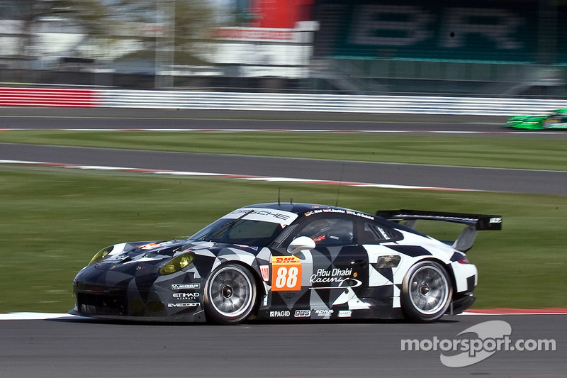 #88 Proton Competition, Porsche 911 RSR: Christian Ried, Khaled Al Qubaisi, Klaus Bachler