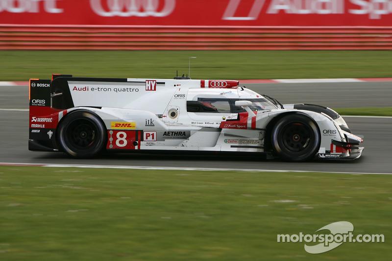 #8 奥迪运动车队,奥迪R18 e-tron quattro: Lucas di Grassi, Loic Duval, Oliver Jarvis