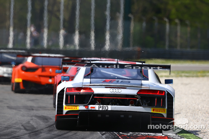 #6 菲尼克斯车队,奥迪R8 LMS: Christopher Haase, Christian Mamerow, Markus Winkelhock