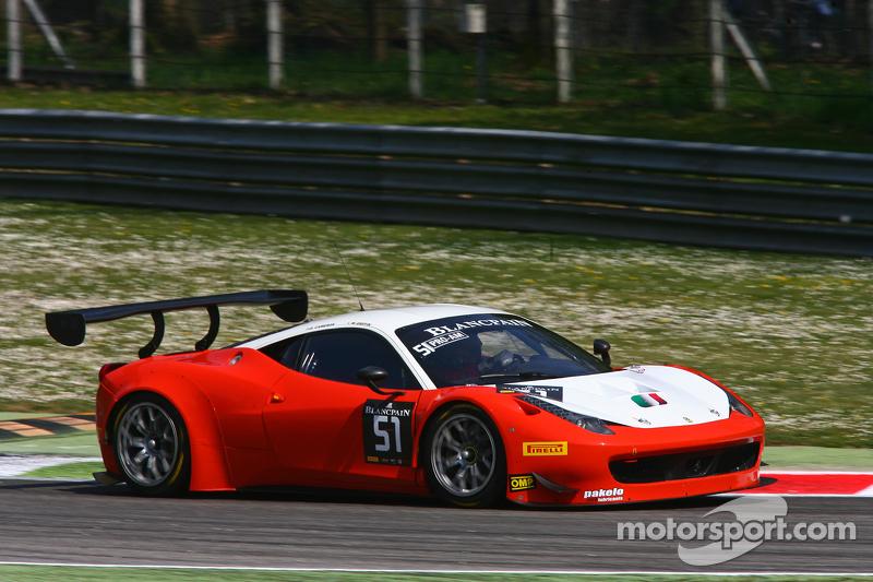 #51 AF Corse Ferrari 458 Italia: Duncan Cameron, Matthew Griffin