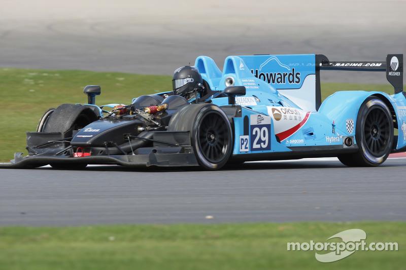 #29 Pegasus Racing Morgan - Nissan: David Cheng, Leo Roussel, Jonathan Coleman mengalami masalah