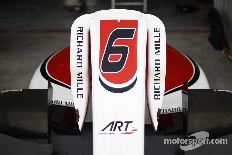 Bodywork dari mobil Nobuharu Matsushita, ART Grand Prix