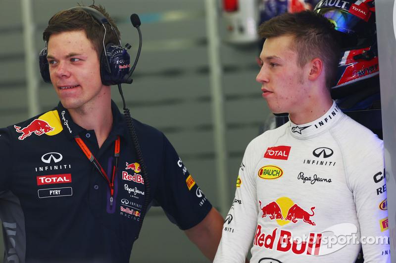 Daniil Kvyat, Red Bull Racing dengan Pyry Salmela, Pelatih Pribadi