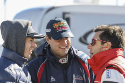 Leonel Pernia, Las Toscas 雪佛兰车队;Sergio Alaux, Coiro Dole 雪佛兰车队;Juan Manuel Silva, Catalan Magni福特车队(从左到右)
