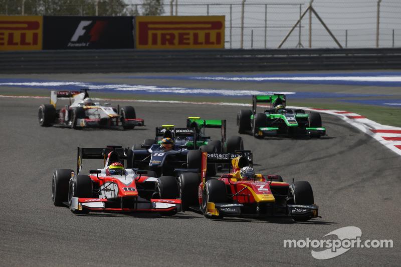Daniel De Jong, MP Motorsport, und Jordan King, Racing Engineering