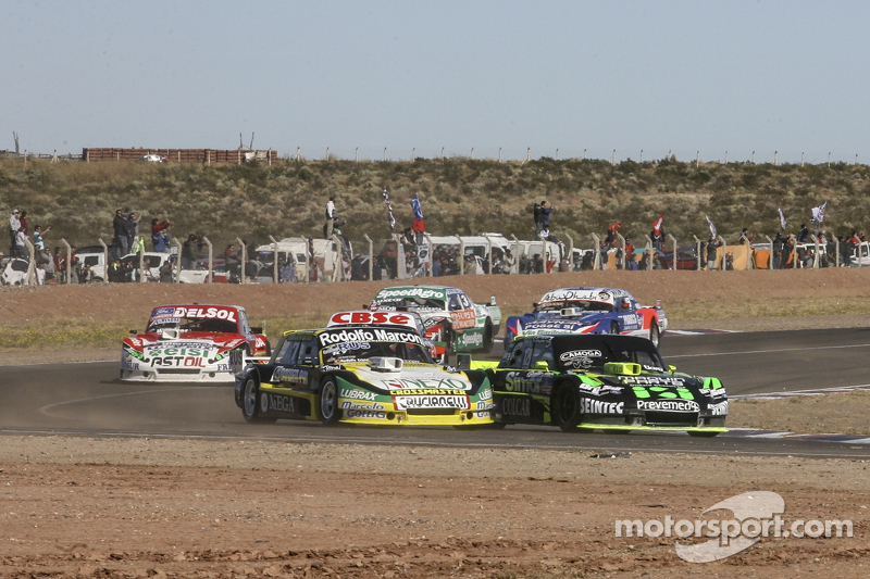 Omar Martinez, Martinez Competicion Ford Mauro Giallombardo, Maquin Parts Racing Ford Juan Pablo Gianini, JPG Racing Ford