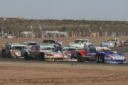 Matias Rodriguez, UR Racing, Dodge; Camilo Echevarria, Coiro Dole Racing, Torino; Facundo Ardusso, Trotta Competicion, Dodge, und Norberto Fontana, Laboritto Jrs, Torino