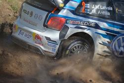 Jari-Matti Latvala und Miikka Anttila, Volkswagen Motorsport, Polo WRC