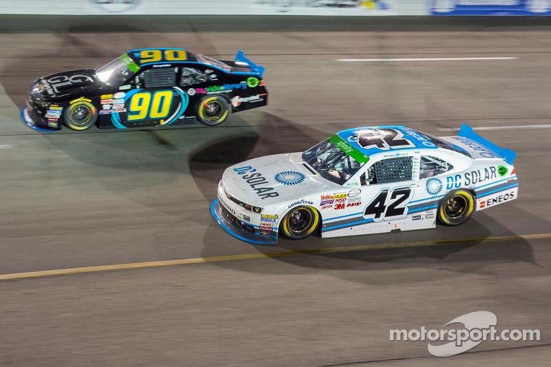 Mario Gosselin, King Autosport, Chevrolet, und Brennan Poole, HScott Motorsports mit Chip Ganassi