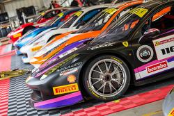 Coches del Ferrari Challenge