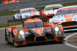 Ligier JS P2 Nissan команды G-Drive Racing: Роман Русинов, Жюльен Каналь, Сэм Берд