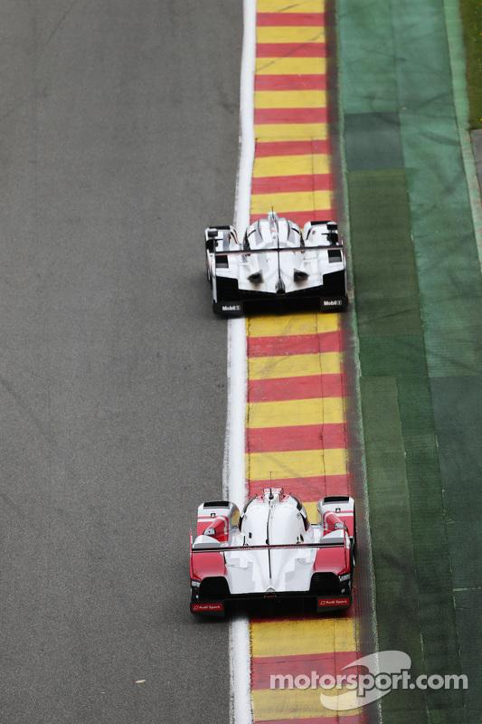 #9 奥迪运动车队,奥迪R18 e-tron quattro Hybrid: Filipe Albuquerque, Marco Bonanomi, Rene Rast