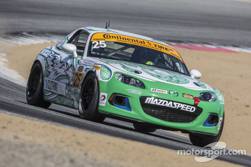 #25 Freedom Autosport, Mazda MX-5: Britt Casey jr., Tom Long
