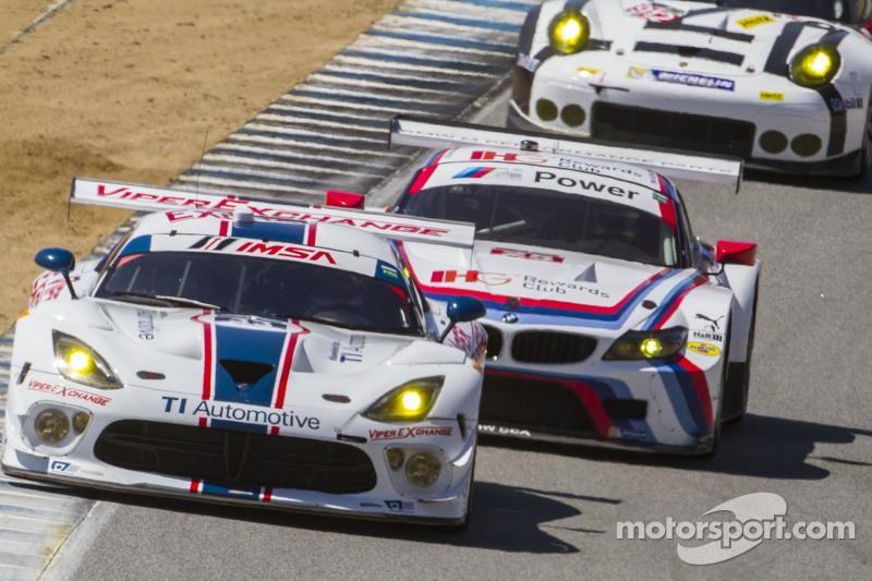#93 Riley Motorsports,道奇Viper SRT: Marc Miller, Jeff Mosing