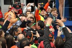 Le vainqueur de la course 2, Norbert Michelisz, Honda Civic WTCC, Zengo Motorsport
