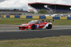 #20 Team AKKA ASP Ferrari 458 Italia : Philippe Giauque, Jean-Luc Beaubelique, Morgan Moullin-Traffort