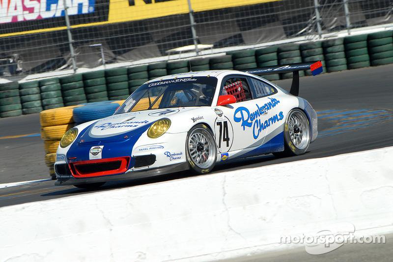 #74 Tafel Racing Porsche GT3 Cup: Eric Lux, Ian James