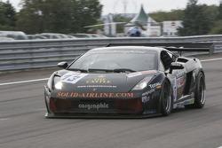 #13 Reiter Engineering Lamborghini Gallardo GT3: Albert Von Thurn und Taxis, Phil Bastiaans