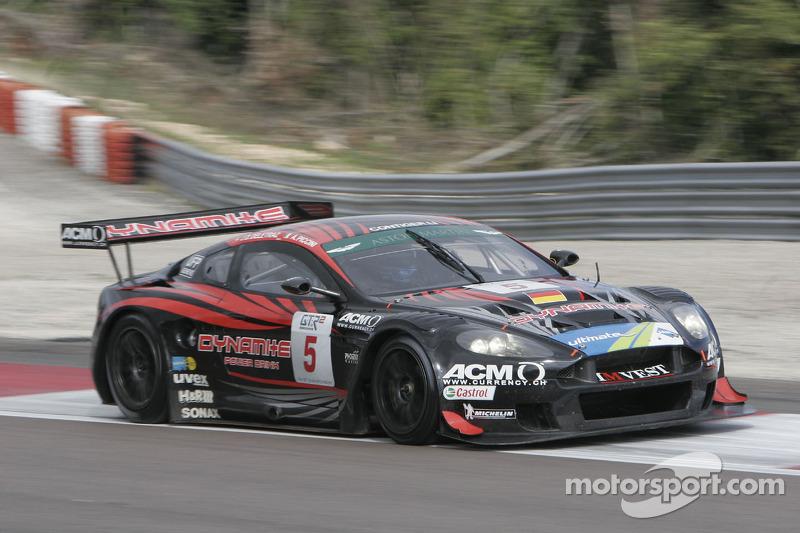 #5 Phoenix Racing Aston Martin DBR 9: Jean-Denis Deletraz, Andrea Piccini
