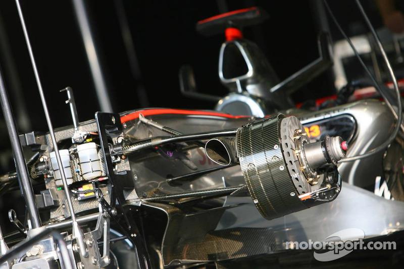 McLaren Mercedes MP4-21 car detail
