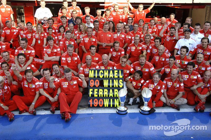 2006. Переможець: Міхаель Шумахер, Ferrari