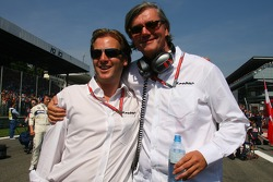 Michiel Mol, future Director of Formula One Racing, Spyker and Spyker MF1 Racing and Victor R. Muller, Chief Executive Officer of Spyker Cars N.V. and Spyker MF1 Racing