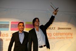 Best Driving Style Award winner Nelson A. Piquet