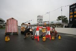 British workmen hard at work!