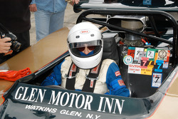 Vic Franzese in his 1968 McLaren M12