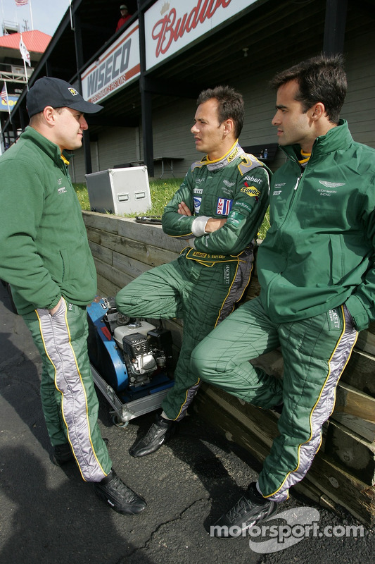 Tomas Enge, Stéphane Sarrazin et Pedro Lamy
