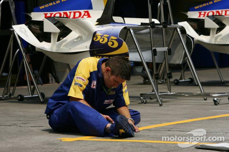 Miembro del equipo Honda Racing