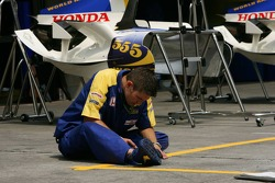 Honda Racing team member