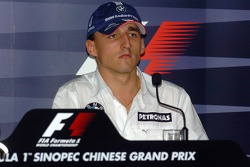 FIA Thursday press conference: Robert Kubica