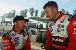 Bill Auberlen and Joey Hand