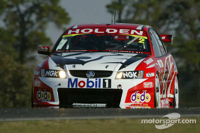 Mark Skaife en route vers la pole position