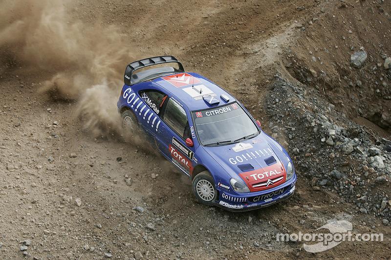 Colin McRae und Nicky Grist, Citroën
