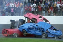 A car crash stunt