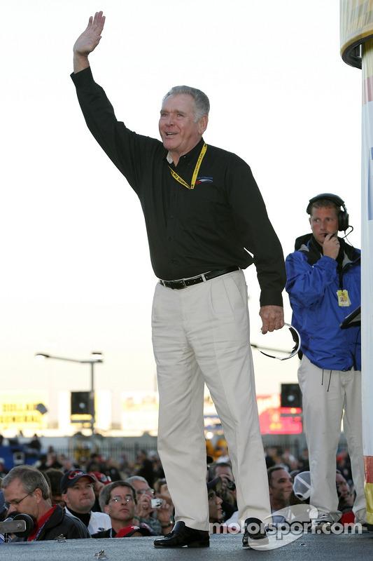 Ceremonia de celebración de campeones: Buddy Baker