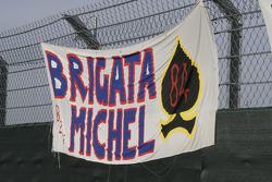 Pancarte pour Michel Fabrizio