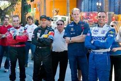 Joey Hand, Andy Pilgrim, Jorg Bergmeister and Guy Cosmo