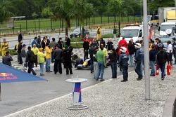 Red Bull Racing demo run in Sao Paulo: Michael Ammermuller