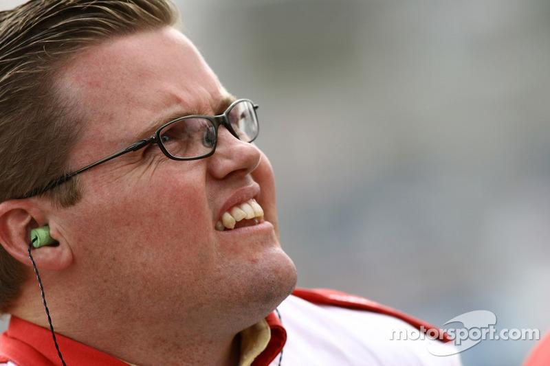 Membre du team Newman/Haas Racing