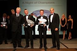 LMP1 champions: Rinaldo Capello and Allan McNish