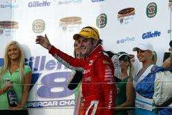 Todd Kelly won the Gillette V8 Supercar Challenge