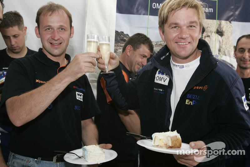 Manfred Stohl et Henning Solberg