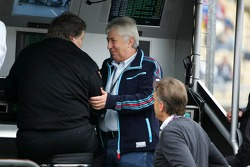 Herbie Blash visits the DTM and Norbert Haug at the pitwall