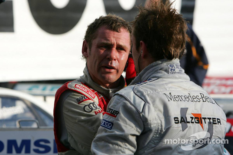 Tom Kristensen et Jamie Green