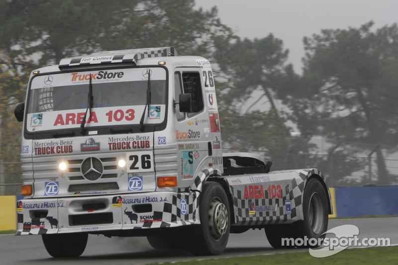 Agustin Angel Roman Huertas Mercedes Benz n°26 : Agustin Angel Roman Huertas