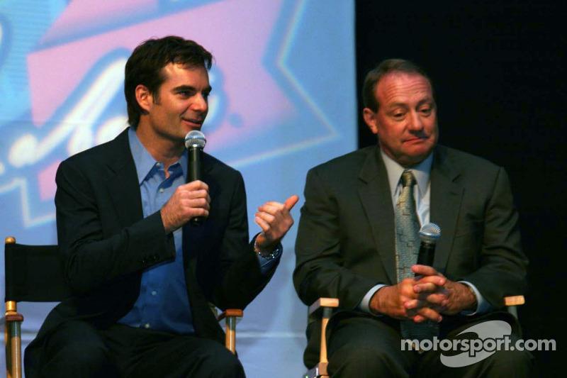 Jeff Gordon et Ken Schrader