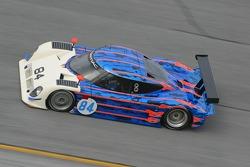 La Pontiac Riley n°84 du Robinson Racing : George Robinson, Paul Dallenbach, Katherine Legge